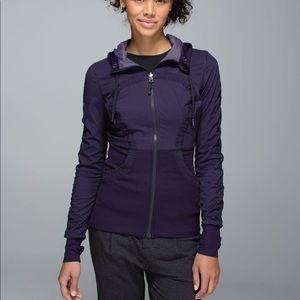 Lululemon Dance Studio Jacket Dark Grape Size 6